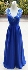 NWT MASQUERADE $125 Royal Evening Prom Formal Gown 9