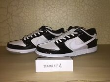 Nike Dunk Low SB CONCORD White BLACK PATENT space jam SZ 8 supreme 304292-043