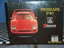Ferriari F40: Pocher Rivarossi 1/8 Scale RED