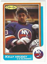 1986-87 OPC HOCKEY #27 KELLY HRUDEY 2ND YEAR - EXCELLENT+