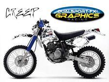 SUZUKI DR 350 CREEP KOMPLETT DEKORSATZ Graphics, deco, Suzuki DR350 DR 350