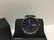 New Marc By Marc Jacobs Brown Leather MBM5078 MSRP $225.00 Watch