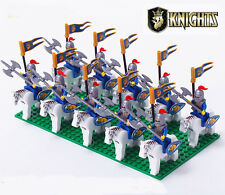 10 pcs Castle Lion King Knight minifigures building toy fit lego in bags NO.1009