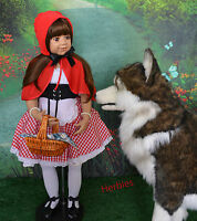 Masterpiece Little Red Riding Hood Blue Eyes, Monika Levenig Wolf Not Included