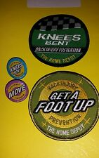 home depot back injury prevention patches and pins