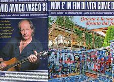 Ga42 Ritaglio Clipping del 2012 Marco Manzini Il mio amico Vasco Rossi soffre.