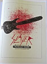 SLAYER BAND Poster Reprint for Concert in Berlin Germany Offset Lithograph 14x10