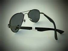 NEW TOMMY HILFIGER TH BENJAMIN black aviator sunglasses