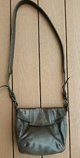Isabella Fiore  Brown Leather Crossbody Bag
