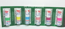 6PCS POYSIAN THAI SMELLING SALT NASAL INHALER MENTHOL and EUCALYPTUS