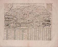 Antica mappa, nouveau plan de Ville de Rome