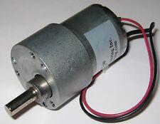 200 RPM Heavy Duty 5 V DC Gearhead Motor - Gear Reduction 5 VDC Motor w/ D Shaft