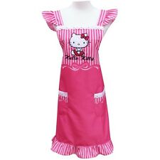 Hello Kitty Cooking Craft Apron Adult Rare Lace Pink Sanrio