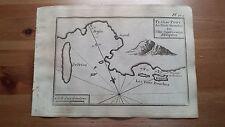 """1817 Allezard: Portolano Le Tre Bocche I. di Sciro/Skyros Grecia """"Isle Esquiro"""""""