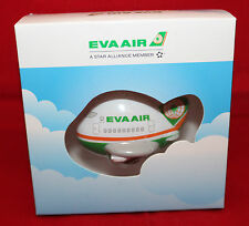 Eva Air Airlines Taiwan Inflight Airplane Shaped Memo Clip With Magnet Small