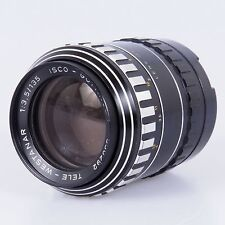# ISCO Gottingen 135mm f3.5 lens for Exakta Tele Westanar (#125)