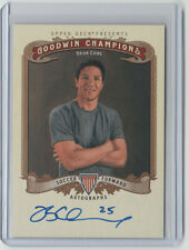 BRIAN CHING Signed 2012 Goodwin Champions #A-CG Autograph SP Rare ON CARD AUTO