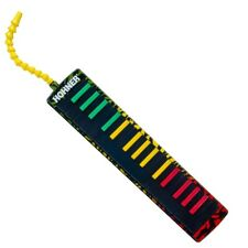 Hohner Airboard Rasta 32 Melodica Keyboard w/Padded Case+Warranty FREE PRIORITY