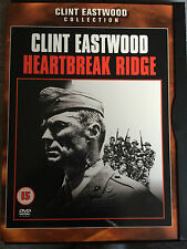 Clint Eastwood HEARTBREAK RIDGE ~ 1986 War Drama | UK Snapper Case DVD