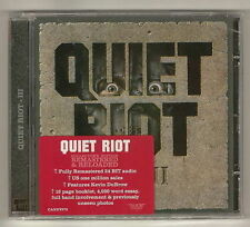 QUIET RIOT 'III' REMASTERED ROCK CANDY 2010 NEW! SEALED