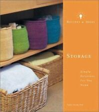 Storage : Simple Solutions for the Home by Kasha Harma Hirst (2001, Paperback)