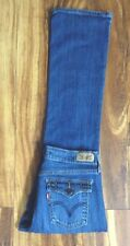 SUPER HOT! LEVI'S 515 BOOT CUT DISTRESSED JEANS 4M L30 COWGIRL COWBOY SUPER SEXY