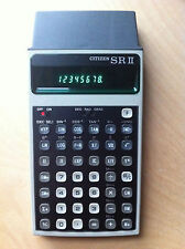 Vintage calculator Citizen SR II scientific calculator Sharp Commodore  LED LCD