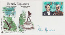 Pen HADOW SIGNED Autograph FDC AFTAL COA First Day Cover Polar Explorer RARE