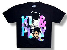 """KID N PLAY -  """"STARE"""" IMAGE BLACK T-SHIRT ADULT X-LARGE NEW OFFICIAL HIP HOP RAP"""