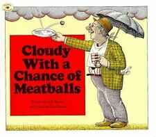 Cloudy with a Chance of Meatballs funny Judi Barrett kids story picture book