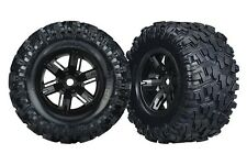 Traxxas 7772 Tires/Wheels Assembled Glued X-Maxx (2), 7772