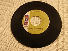 TEEN TONY BELLUS THE END OF MY LOVE/THE ECHO OF AN OLD SONG NRC 51  M-
