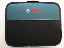 "BOSCH TOOL BAG 13"" X 11"" Soft Sided Contractors Tool Bag w/ Inside Pocket New"