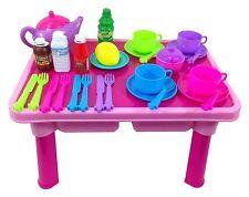 Childs Niños Juguete Juego de té, tabla 29 piezas juego de rol,