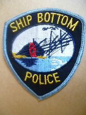 Patches: SHIP BOTTOM POLICE PATCH (NEW* apx. 11x10 cm)