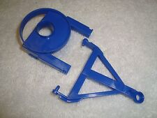 LGB 4038 SERIES BRUDER CIRCUS ANIMAL CAGE WAGON BLUE HITCH ASSEMBLY PARTS SET!