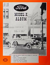 Ford Model A Album by Clymer and Henry History-Body Styles-250 photos 1928-1931
