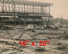 "NY Yankees~Photo~Yankee Stadium~Being Built 1922~Poster~16"" x 20"""