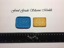 Full Size Custard Cream Biscuit Food Grade Silicone Moulds