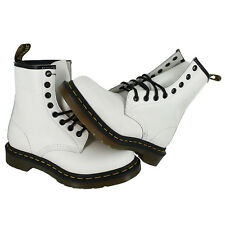 Dr. Martens 1460W Classic 8 Eye Boot White R11821100 Womens US size 8, EUR 39