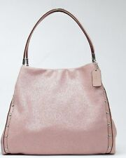 Coach 35211 Studded Madison Phoebe Leather Shoulder Bag TUBEROSE Pink NWT