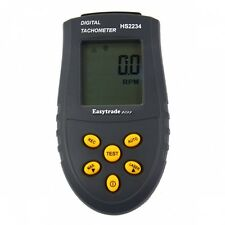 New Handheld Digital LCD Laser Tachometer RPM Test Engine Motor Speed Gauge