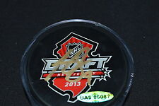 UDA Hunter Shinkaruk Autograph 2013 NHL Entry Draft Puck BNJ