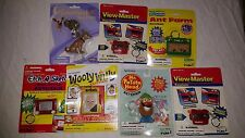 7 Novelty Keychain Toys Fun 4 All, Taco Bell, View Master, Etch,Potato Head MINT