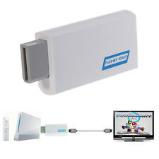 For Wii To HDMI 1080P Upscaling Converter Adapter with 3.5mm Audio Output DE