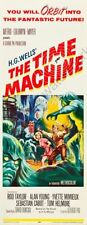 Time Machine The 14inx36in Insert Movie Poster Replica