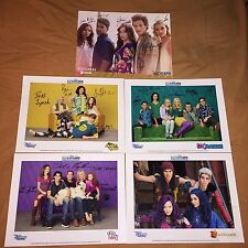 D23 EXPO LIV AND MADDIE AUSTIN & ALLY DOG WITH A BLOG DECENDANTS CAST PHOTO RARE