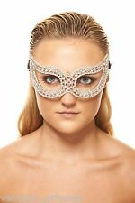 Luxury Crystal Masquerade Mask Venetian Swarovski Laser Cut Mask Wedding Prom