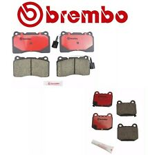 Front & Rear Brake Pads Set Brembo for Subaru Impreza WRX STi 2004-2007