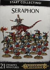 Warhammer Age of Sigmar START COLLECTING SERAPHON LIZARDMEN